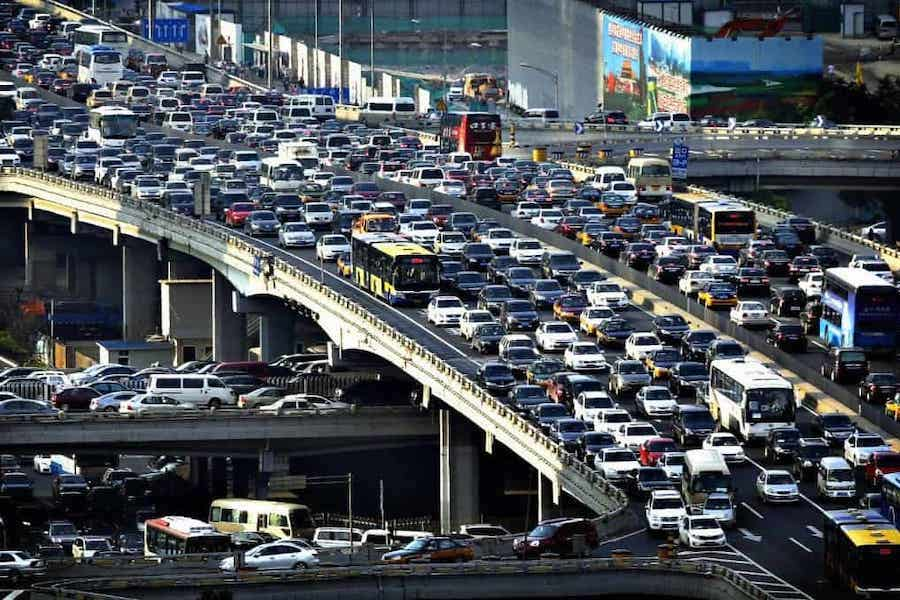 Overpopulation and traffic
